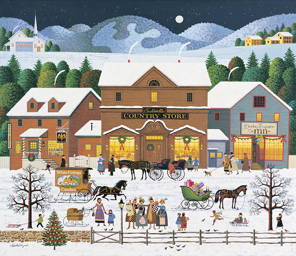 Christmas Eve Art Prints By Charles Wysocki Artist