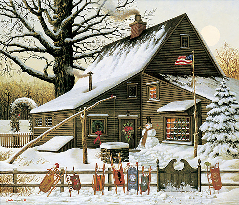Cocoa Break at the Copperfields Art Prints By Charles Wysocki Artist