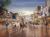 Cowtown Art Prints by Jack Terry