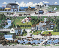 Crickethawk Harbor Art Prints By Charles Wysocki Artist