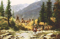 Crow Country Art Prints by Howard Terpning