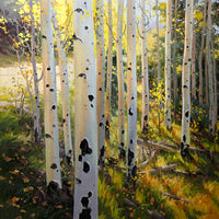 Early Aspen Art Prints by Gary Kim