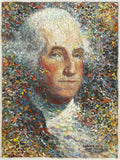 George Washington portrait art prints by Larry Dyke