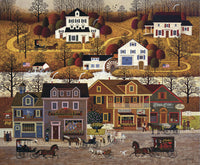 Hawk River Hollow Art Prints By Charles Wysocki Artist