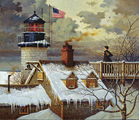 I Hope Your Seas are Calm Art Prints By Charles Wysocki Artist