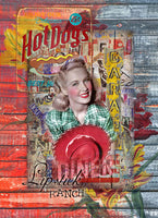 Lipstick Ranch Art Prints by Shari Jenkins