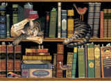Max in the Stacks Art Prints By Charles Wysocki Artist