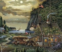 Moonlight Passage Art Prints By Charles Wysocki Artist
