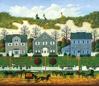 Nantucket Winds Art Prints By Charles Wysocki Artist