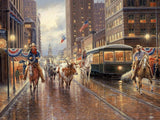 Old Downtown Art Prints by Jack Terry