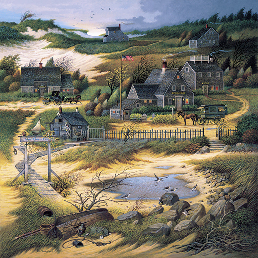 Olde Nantucket Art Prints By Charles Wysocki Artist