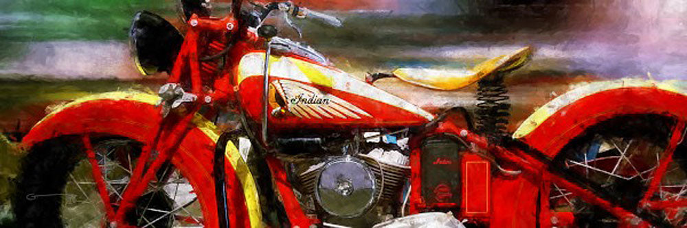 Pano Indian 4 Art Prints by Garland Greg Flowers