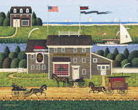 Red Whale Inn Art Prints By Charles Wysocki Artist