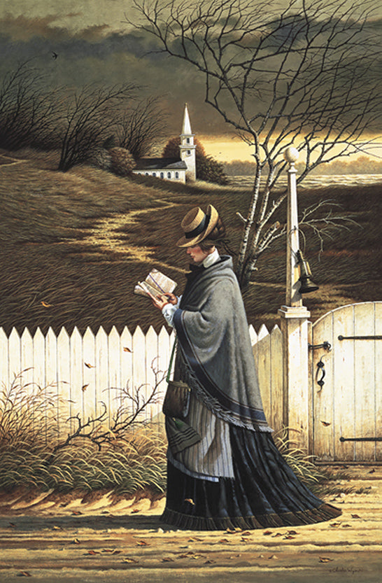 Sea Captains Wife Praying Art Prints By Charles Wysocki Artist