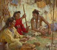 Seeking Guidance from the Great Spirit Art Prints by Howard Terpning