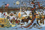 Small Town Christmas Art Prints By Charles Wysocki Artist