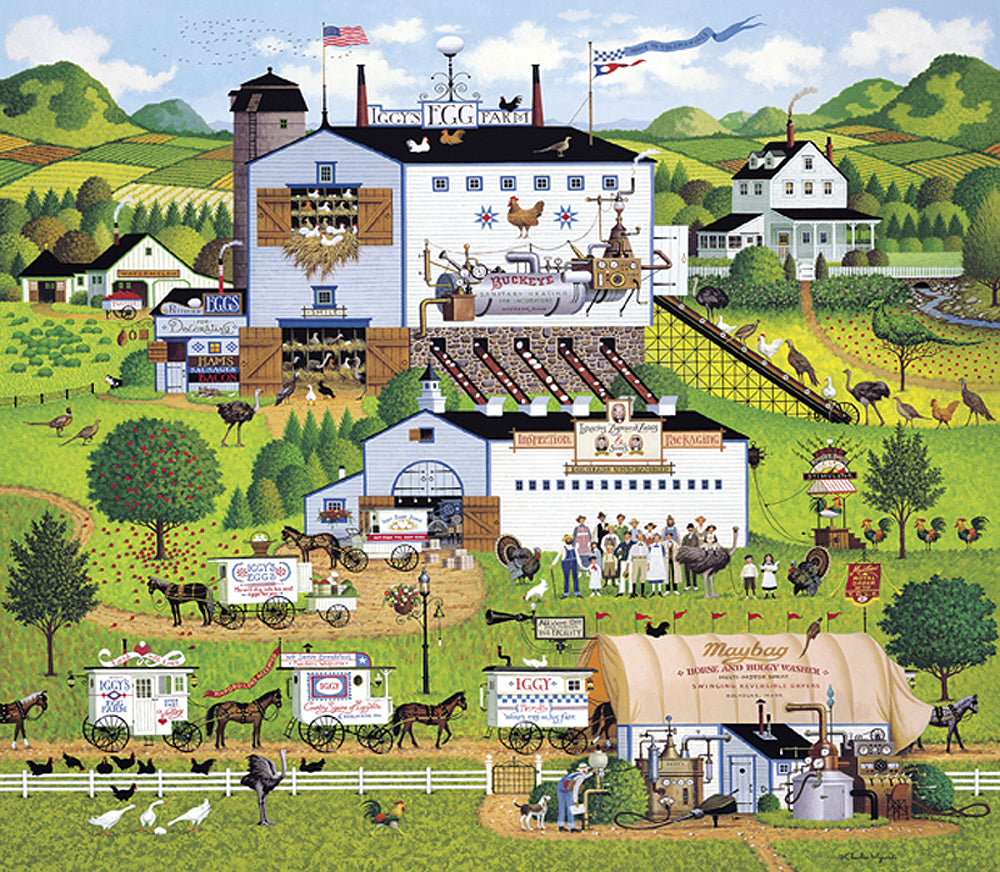 Sunnyside Up Art Prints By Charles Wysocki Artist