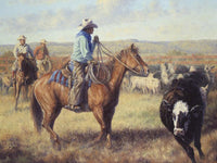The Cow Horse Art Prints by Jack Terry