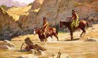 The Rivers Gift Art Prints by Howard Terpning