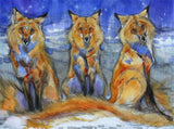 The Sisters Three Art Prints by Amy Lay Artist