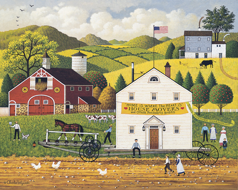There's a Right Way Art Prints By Charles Wysocki Artist