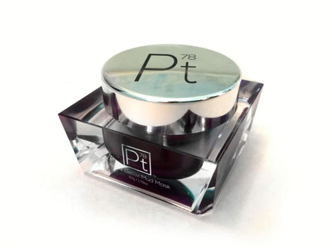 Facial detox mud mask by platinum deluxe