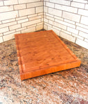End Grain Cherry Cutting Board