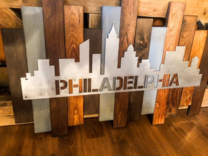 Skyline Rustic Wall Art