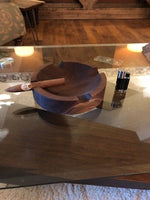 Black Walnut Cigar Ashtray