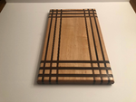 Maple and Walnut Edge Grain Cutting Board