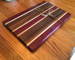 purpleheart cutting board