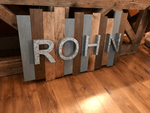 Rustic Wall Sign