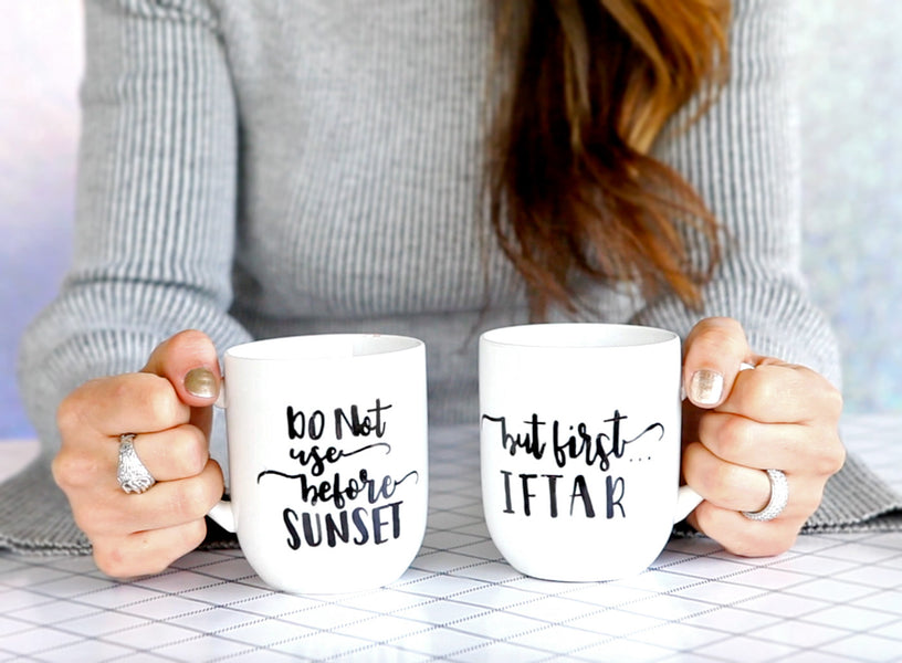 Custom Sharpie Mug DIY - Video