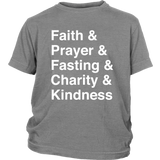 Faith Typography T-Shirt