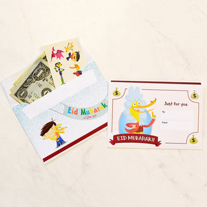 Ilyas & Duck + mE money envelopes