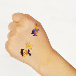 ilyas & duck temporary tattoos