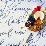 Load image into Gallery viewer, Calligraphy tablecloth
