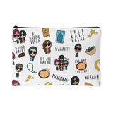 Accessory Pouch/Clutch- Mipsters