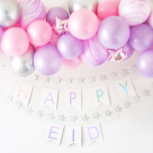 Happy Eid Pennant Banner