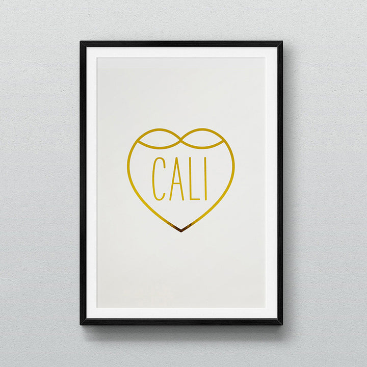 Cali love freeway series art print