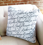 Load image into Gallery viewer, Ramadan Eid Calligraphy Pillow