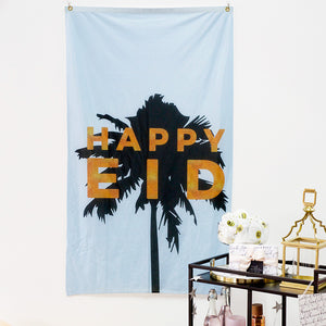 Eid Palm Flag