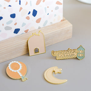 Enamel Pin Magnets- Ramadan & Eid