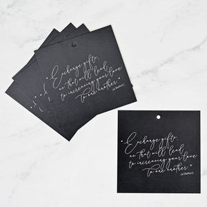 Calligraphy Gift Tags