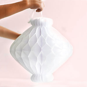 Honeycomb paper Moroccan lanterns