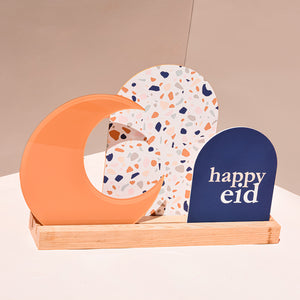 Luna Happy Eid/Terrazzo reversible sign