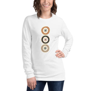 Karma Eyes long sleeve tee