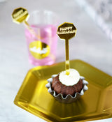 happy ramadan drink stirrer cupcake picks