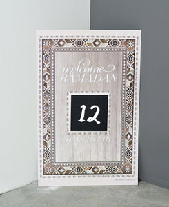 Damasq Collection Ramadan Countdown poster