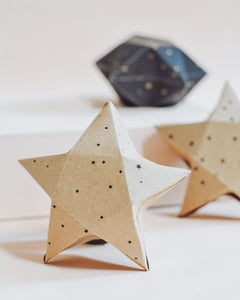 Constellation party Star Boxes printable